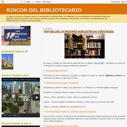 TOP DE LAS 14 MEJORES BIBLIOTECAS VIRTUALES: