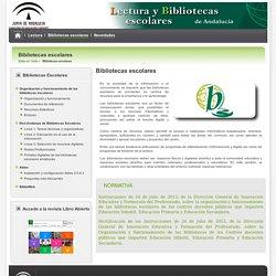 Lecturas y bibliotecas escolares - Bibliotecas escolares - Consejería de Educación