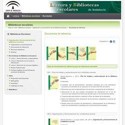 Lecturas y bibliotecas escolares - Documentos de referencia - Consejería de Educación