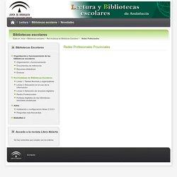 Lecturas y bibliotecas escolares - Redes Profesionales - Consejería de Educación