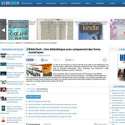 BiblioTech : Une bibliothèque avec uniquement des livres numériques