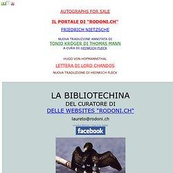 LA BIBLIOTECHINA DI LAURETO RODONI CURATORE DELLA FERRUCCIO BUSONI WEBSITE