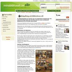 Bokgallring och bibliotekens roll - Minabibliotek