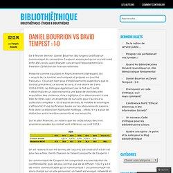 Daniel Bourrion vs David Tempest : 1-0