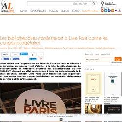 Les bibliothécaires manifesteront à Livre Paris contre les coupes budgétaires