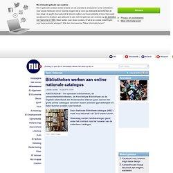 Bibliotheken werken aan online nationale catalogus | nu.nl/internet
