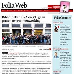Bibliotheken UvA en VU gaan praten over samenwerking