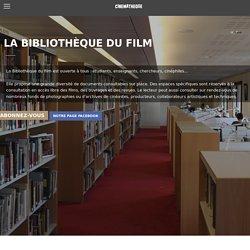 [FR] Bibliothèque / Cinémathèque française