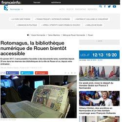 Rotomagus, la bibliothèque numérique de Rouen bientôt accessible - France 3 Haute-Normandie