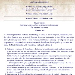 webAfriqa/Bibliothèque/Notes Africaines/Mamby Sidibé/Soundiata