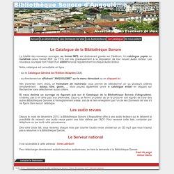 Bibliothèque Sonore d'Angoulême - Catalogue