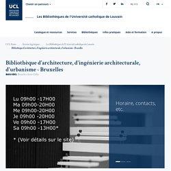 Page web de la BAIU-Bruxelles