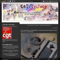 Prêt numérique en bibliothèque : au bout de trente emprunts votre document s'autodétruira - Le blog de CGT Culture DAC Ville de Paris