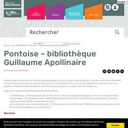 Portail du réseau des bibliothèques de Cergy Pontoise