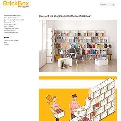 Bibliothèques étagères modulaires de conception
