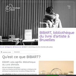 BIBART, bibliothèque du livre d'artiste à Bruxelles - Archipel Butor