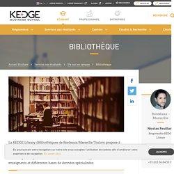 Bibliothèque - Kedge Business School
