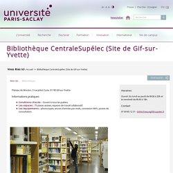 Bibliothèque CentraleSupélec (Site de Gif-sur-Yvette)
