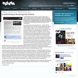 Bibliothèque numérique du cinéma