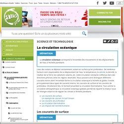 Bibliothèque virtuelle La circulation océanique