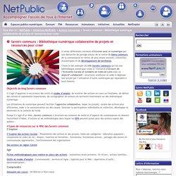 Savoirs communs : Bibliothèque numérique collaborative de projets et ressources pour créer