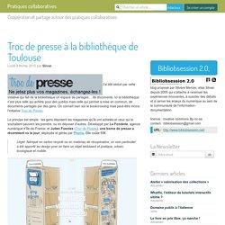 Troc de presse à la bibliothèque de Toulouse