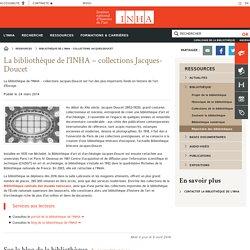 Bibliothèque de l'INHA – collections Jacques-Doucet
