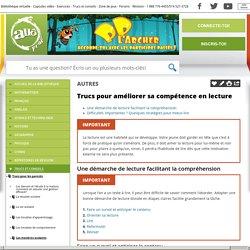 Bibliothèque virtuelle Trucs pour améliorer sa compétence en lecture