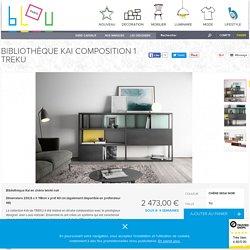 Bibliothèque Kai Composition 1 - Treku - Blou Paris
