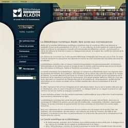 La Bibliothèque numérique Aladin: libre accès aux connaissances