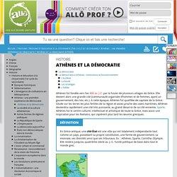 Athènes et la démocratie