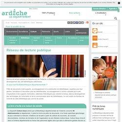 Bibliothèque - Département de l'Ardèche