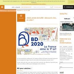2020, année de la BD : découvrir, lire... et créer