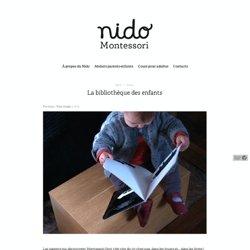 La bibliothèque des enfants - Nido