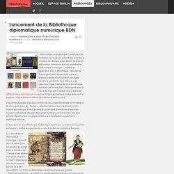 Lancement de la Bibliothèque diplomatique numérique BDN