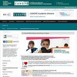 La Grande Bibliothèque Numérique en ligne... - Centre de documentation pédagogique de l'Oise