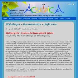 Documentation & Références ACSEIPICA