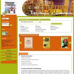 Catalogue en ligne Bibliothèque d'Eckbolsheim.