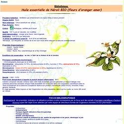 FT HE de Néroli - Citrus aurantium