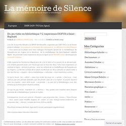 Du jeu vidéo en bibliothèque ? L'expérience DOFUS à Saint-Raphaël « La mémoire de Silence