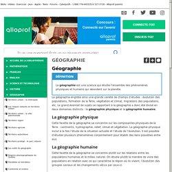 Bibliothèque virtuelle Géographie