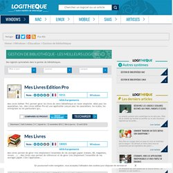 Logiciels de gestion de bibliothèque à télécharger gratuitement