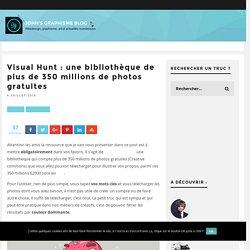 Visual Hunt : une bibliothèque de plus de 350 millions de photos gratuites