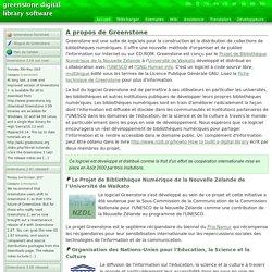 Greenstone Logiciel libre bibliothèque numérique