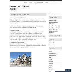 Bibliothèque de l'Hotel de Ville de Paris