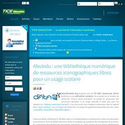 Abuledu : une bibliothèque numérique de ressources iconographiques libres pour un usage scolaire