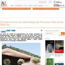 L'Europe finance une bibliothèque de Nice pour lutter contre l'illettrisme