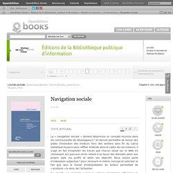 L'outre-lecture - Navigation sociale - Éditions de la Bibliothèque publique d'information