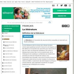 Bibliothèque virtuelle La littérature