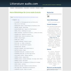 Littérature audio